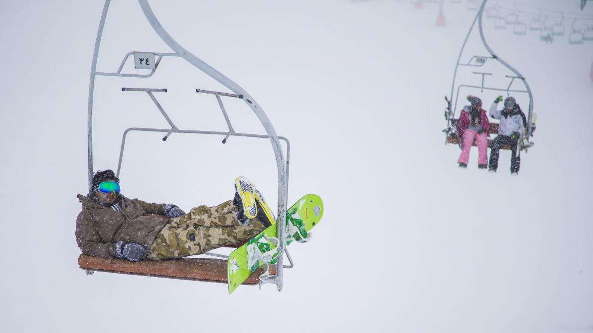 Cent skieurs bloqués sur un télésiège en panne — Serre-Chevalier