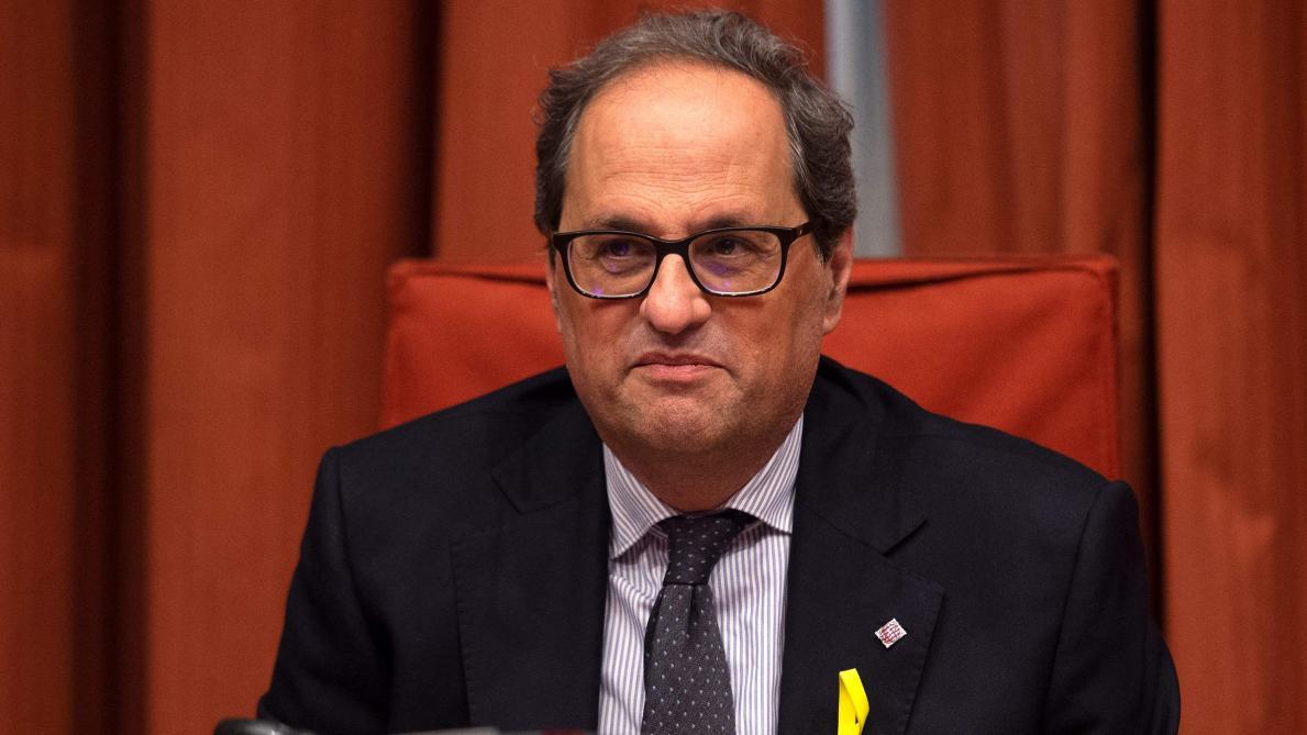 Espagne : la Commission électorale destitue le président catalan indépendantiste