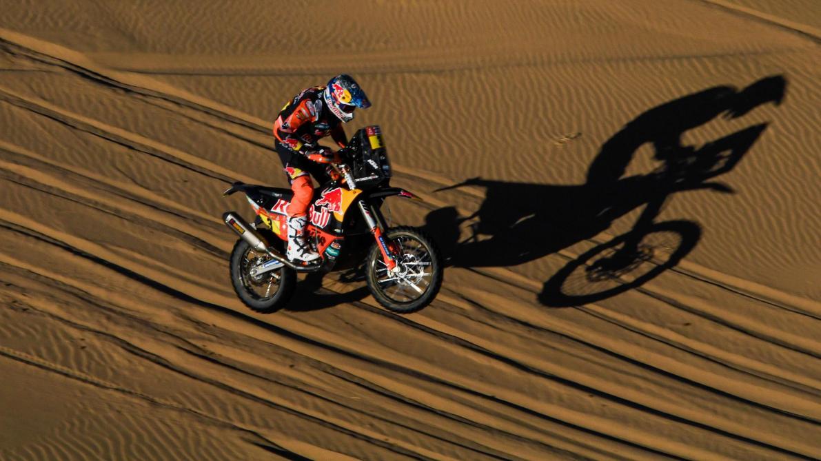 Dakar 2020 moto J3 - Brabec s'impose et prend le tête du classement