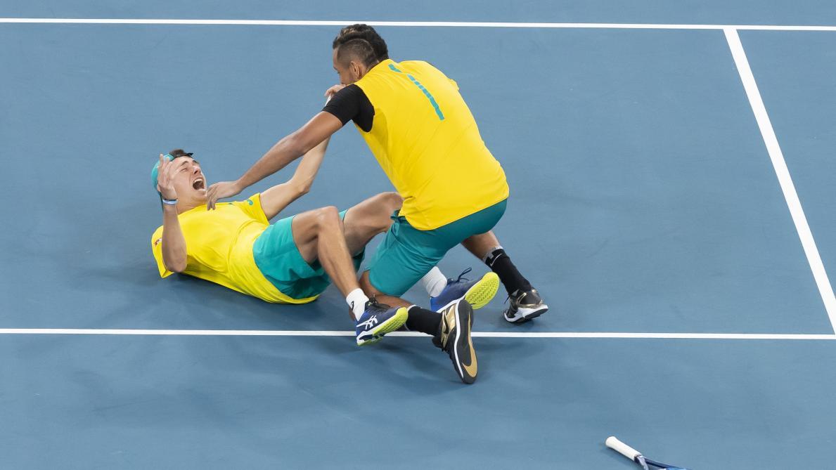 ATP Cup: première qualifiée pour les demi-finales, l'Australie attend la Belgique ou l'Espagne