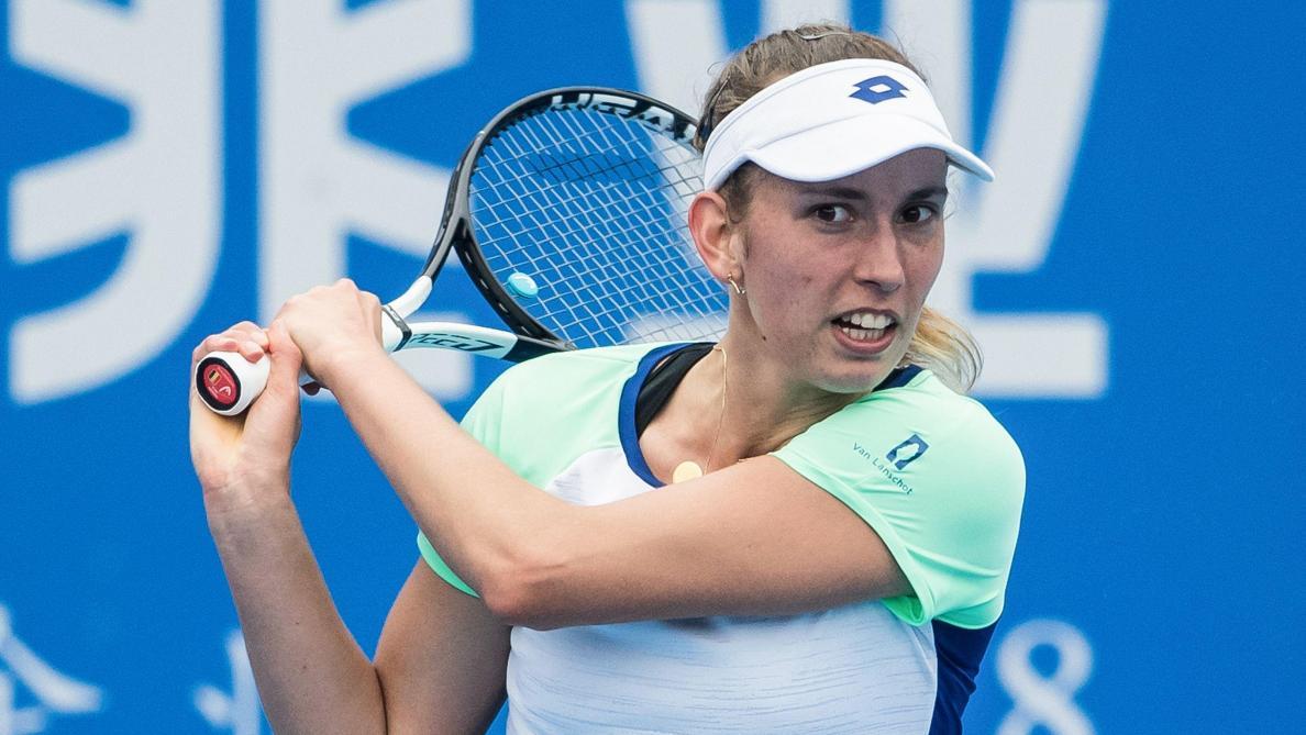 Elise Mertens, battue à Shenzhen, positive avant l'Open d'Australie: «Ce n'est pas en Chine que je devais