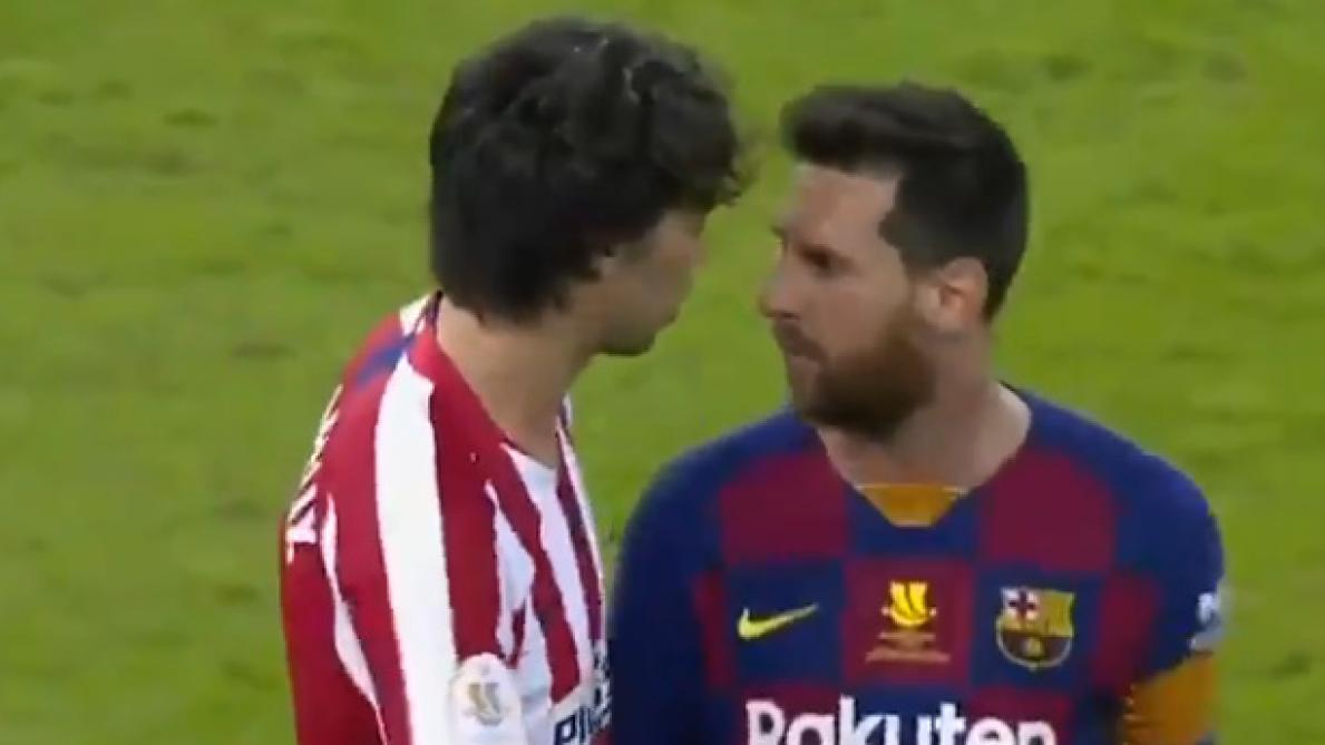 Ça a chauffé entre Joao Felix et Lionel Messi en demi-finale de Supercoupe d'Espagne (vidéo)