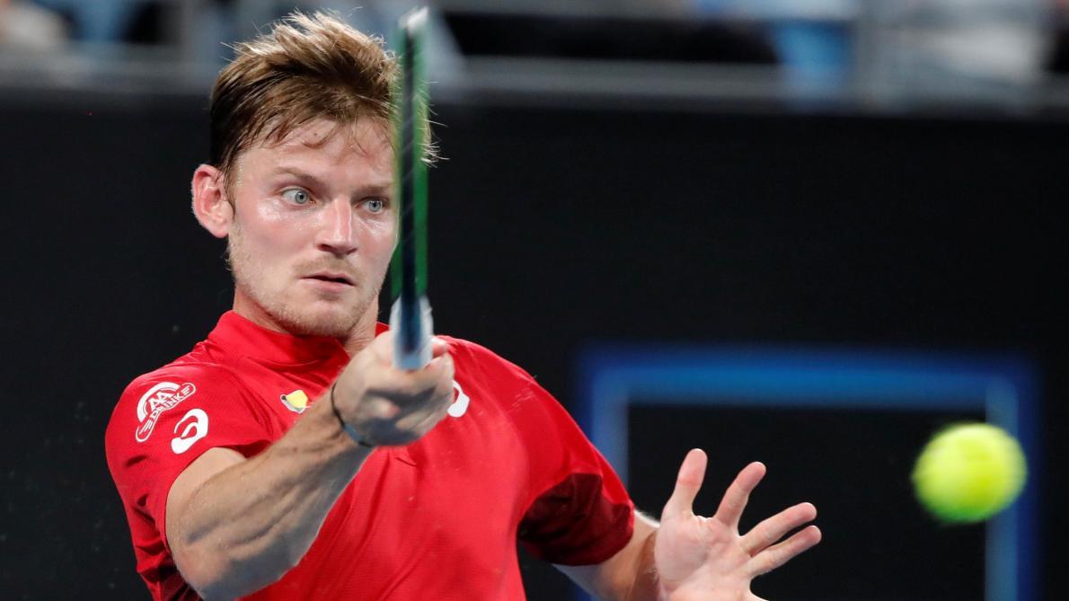 ATP Cup: David Goffin s'impose face au N.1 mondial Rafael Nadal, la Belgique égalise contre l'Espagne en