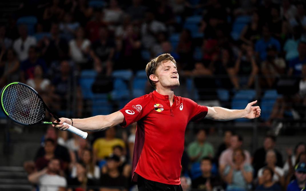 ATP Cup: la joie de Goffin, vainqueur contre Nadal (vidéo)