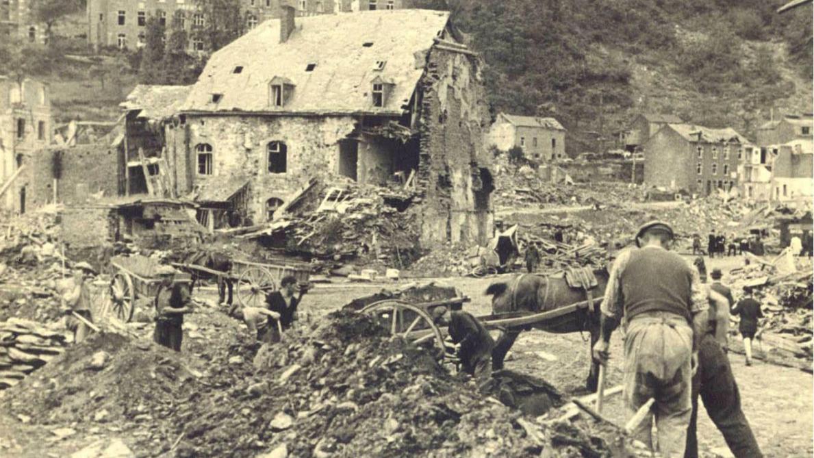 Bataille des Ardennes: les villes oubliées de 1945