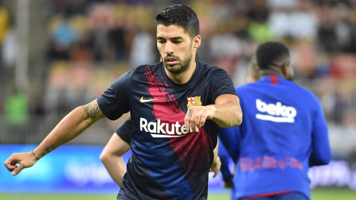 Une très longue absence pour Suarez — Barça