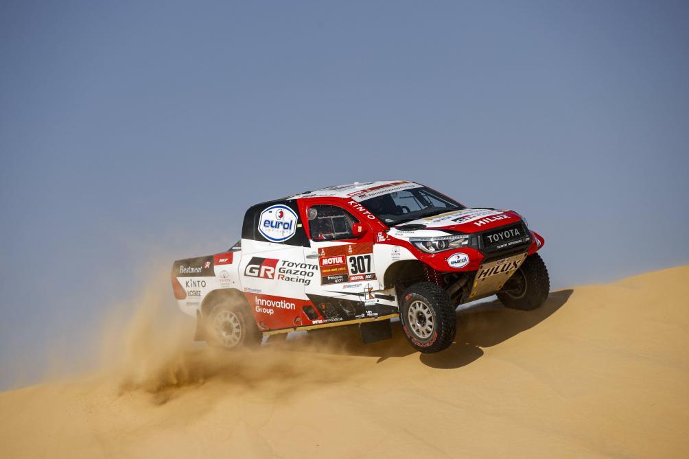 Tom Colsoul signe son meilleur résultat avec une 4e place sur le Dakar