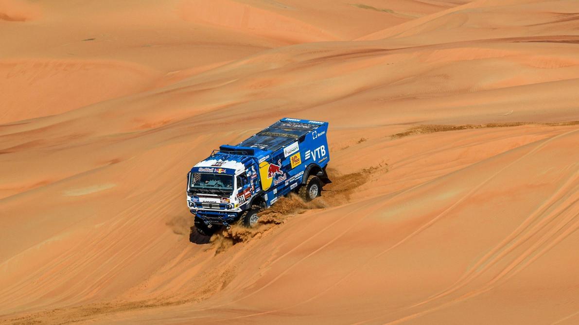 Vainqueur de sept étapes, le Russe Karginov remporte un second Dakar en camions