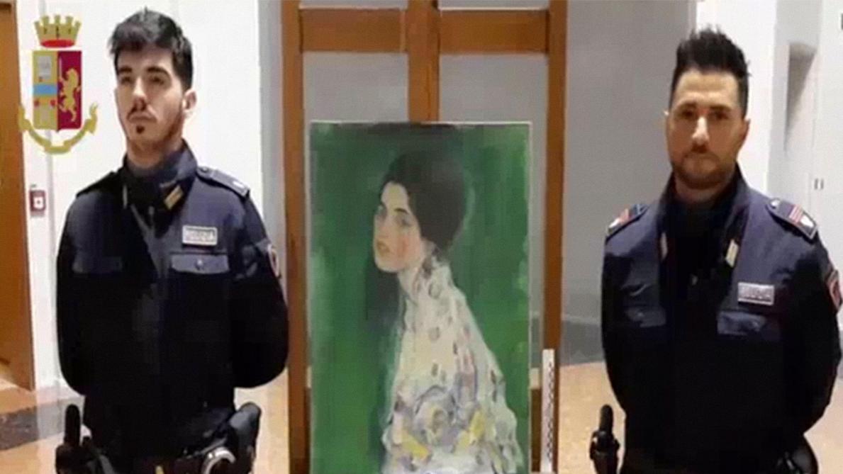 Un tableau de Klimt retrouvé vingt ans après son vol — Italie