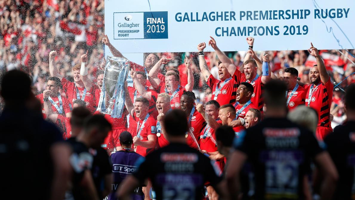 Les Saracens, champions d'Europe et d'Angleterre de rugby, relégués à la fin de la saison