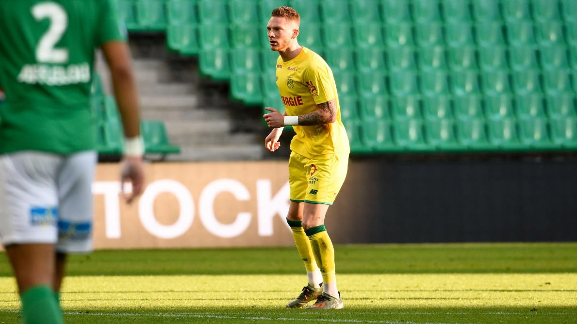 Renaud Emond inscrit son premier but avec Nantes face à Lyon!