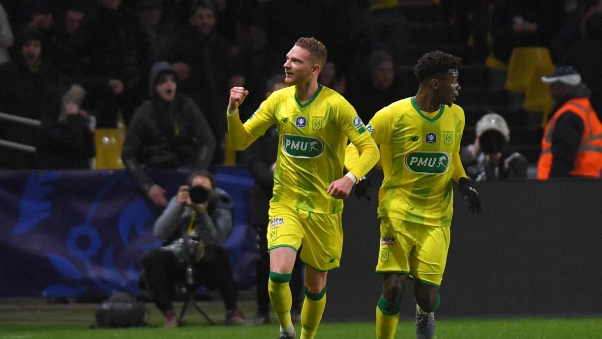 Renaud Emond inscrit son premier but avec Nantes face à Lyon mais n'empêche pas la défaite des Canaris