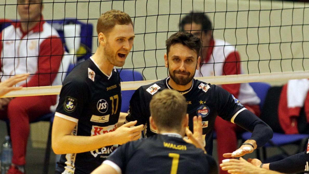 EuroMillions Volley League: Roulers bat Maaseik et lui prend la 2e place au classement après la 11e journée