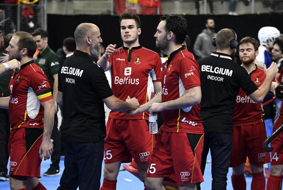 Euro Hockey Indoor (m): la Belgique bat la Pologne 7-4 et se maintient parmi l'élite européenne