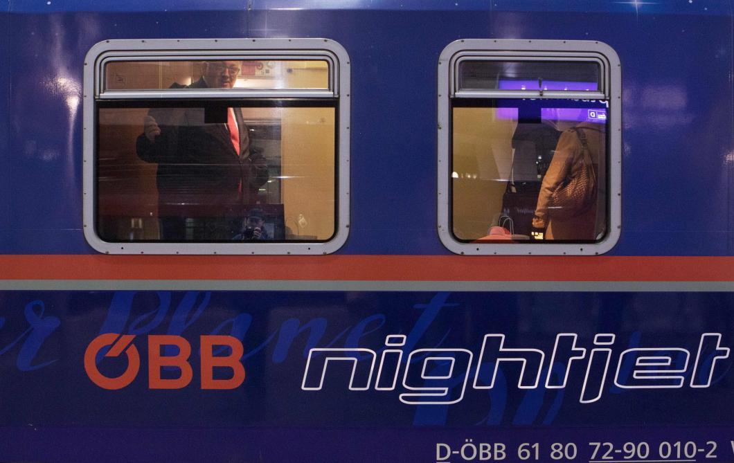 Un nouveau train de nuit relie Bruxelles et Vienne