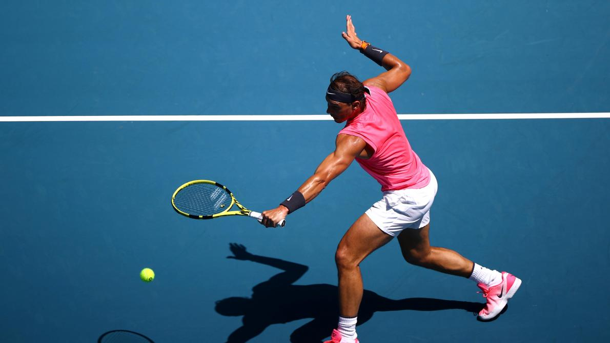 J'ai pris un bon départ pour l'Open d'Australie — Rafael Nadal