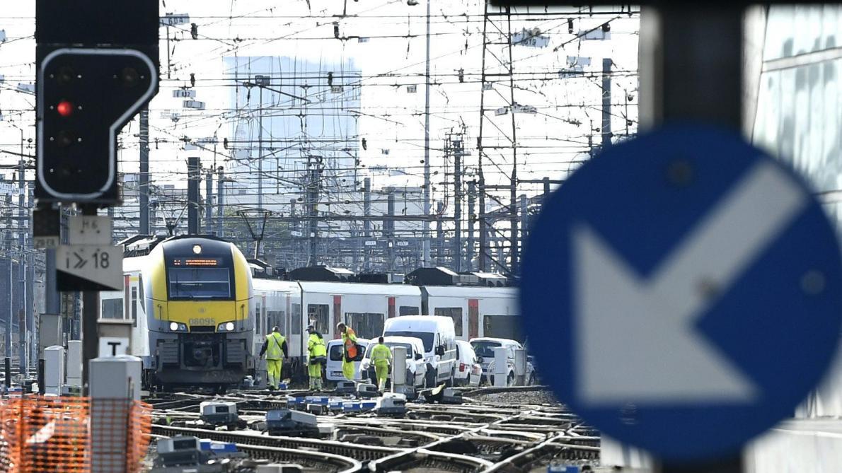 Voiture percutée par un train: la circulation ferroviaire à l'arrêt entre Ottignies et Fleurus