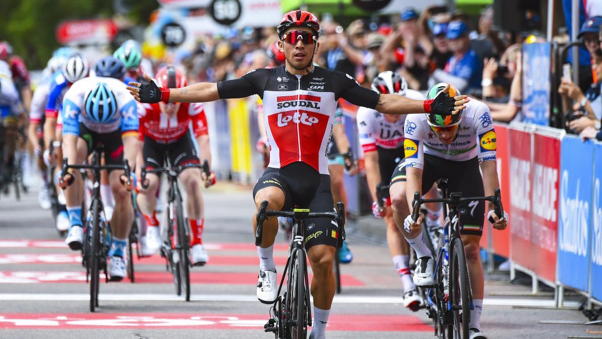 Caleb Ewan signe une autre victoire — Cyclisme sur route
