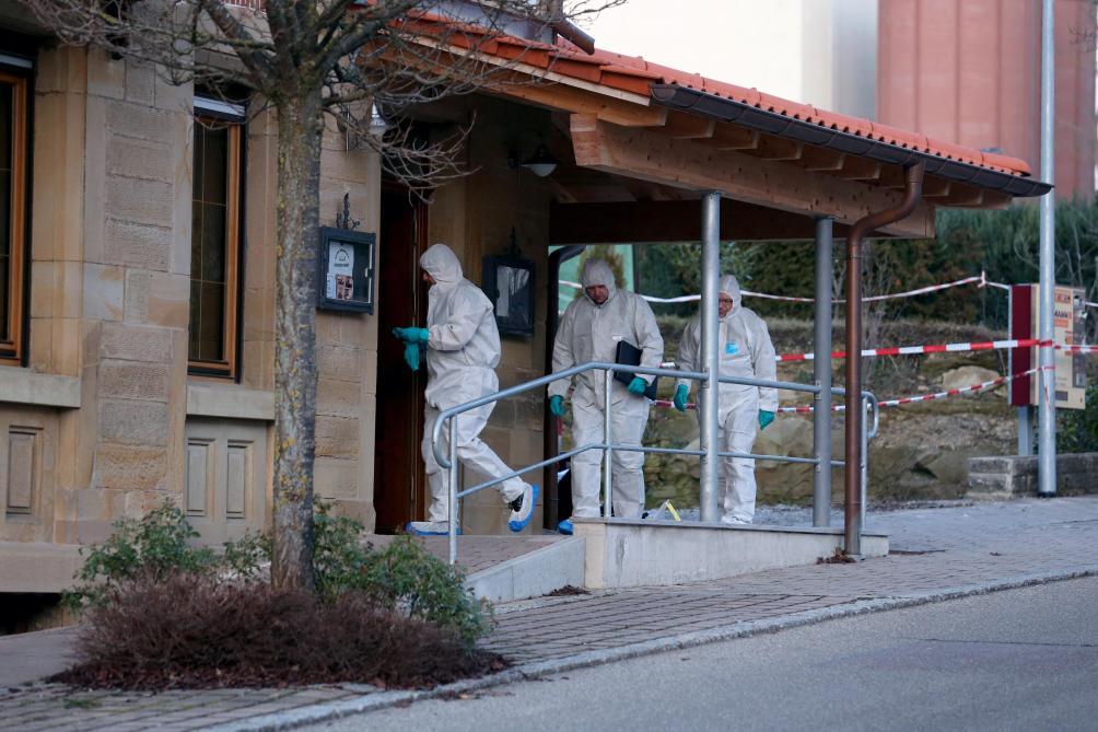Fusillade en Allemagne: six morts, dont les parents du suspect