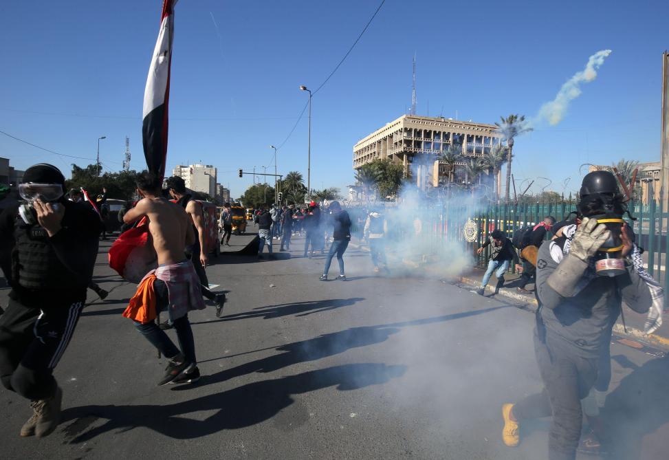 Trois roquettes s'abattent sur l'ambassade américaine à Bagdad