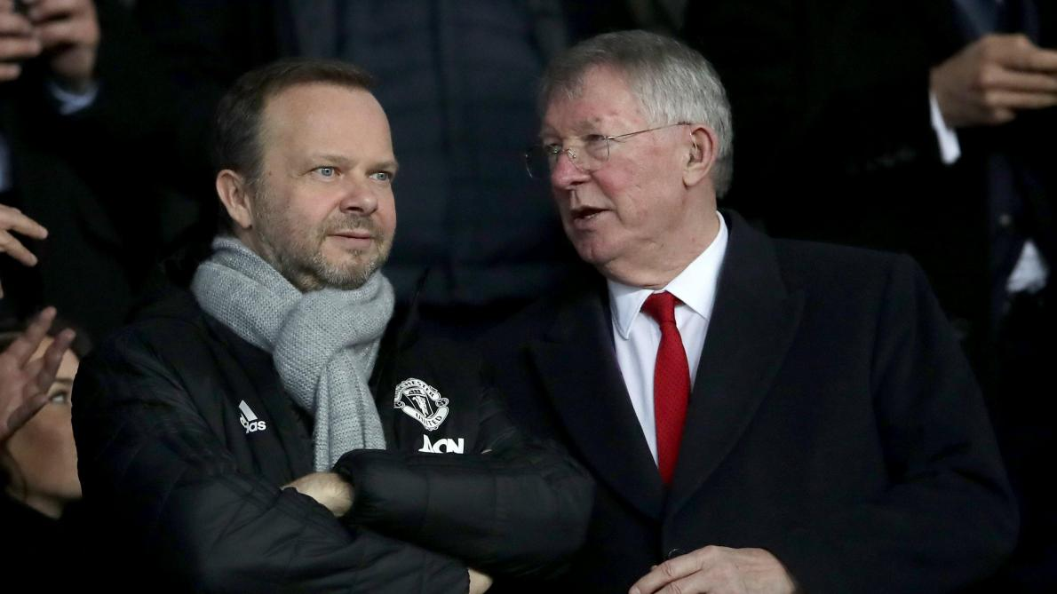 Ed Woodward et Sir Alex Ferguson.