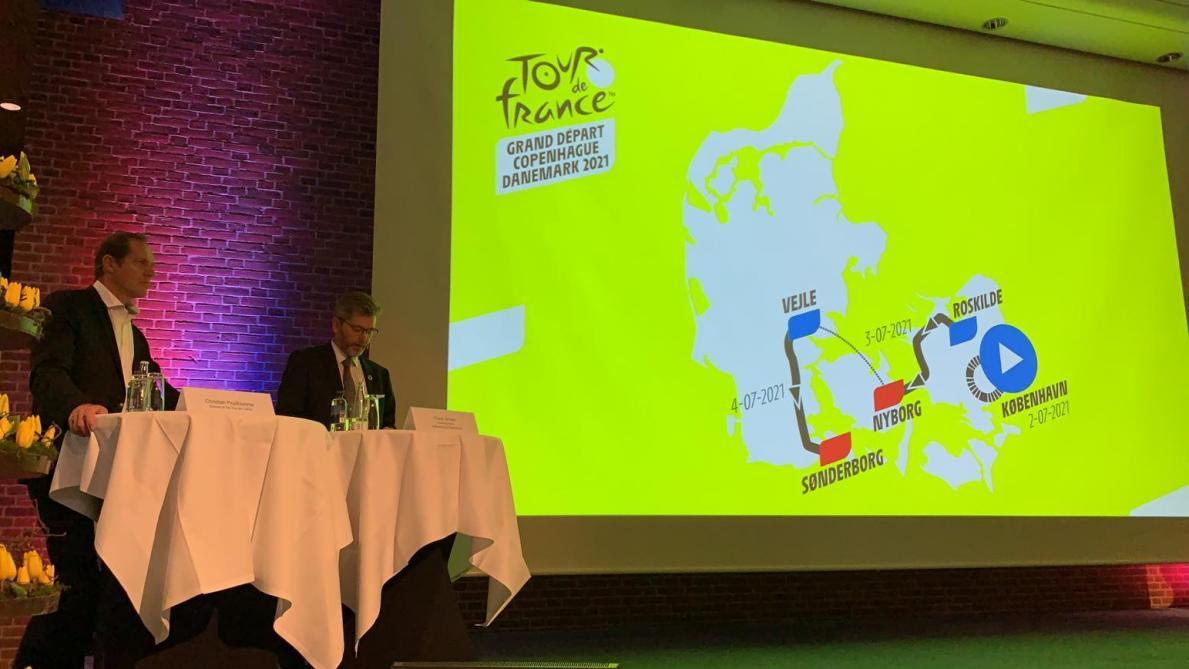 Les trois étapes danoises présentées — Tour de France