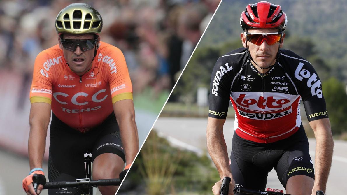 Greg Van Avermaet et Philippe Gilbert ne se lassent pas des pavés