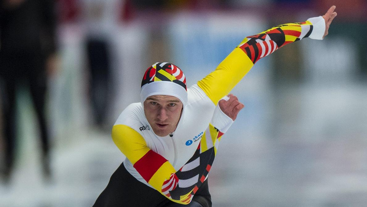 Coupe du monde de patinage: Mathias Vosté bat le record de Belgique du 1.000m