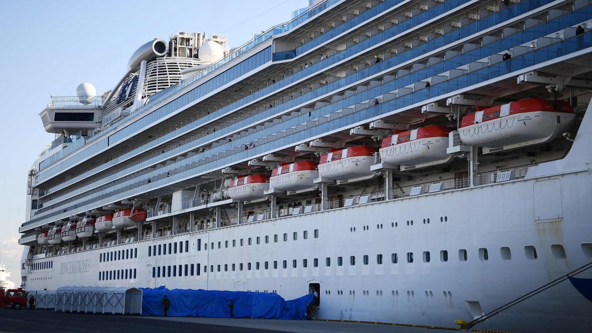 Coronavirus: quatre Français en quarantaine à bord d'un paquebot au Japon