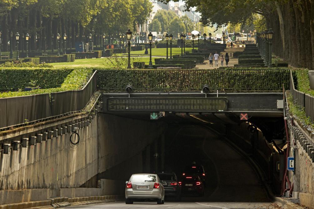 Bruxelles: une entrée du tunnel Léopold 2 fermée dès lundi