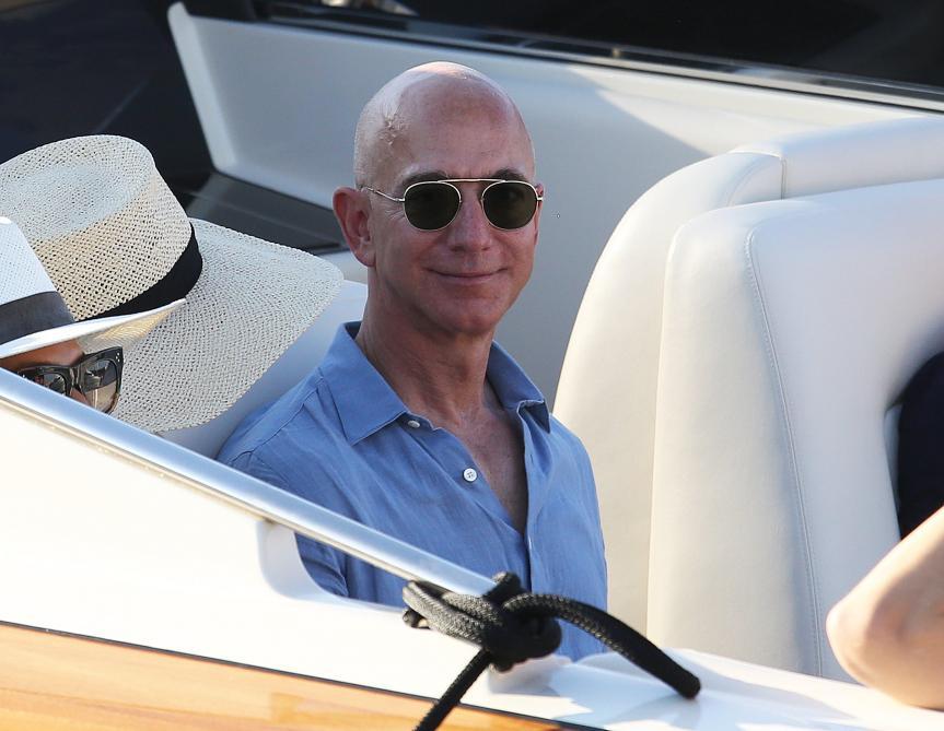 Contre le réchauffement climatique, Jeff Bezos crée un