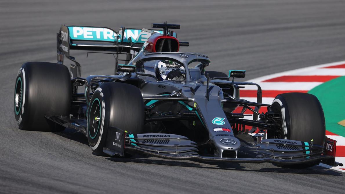 Formule 1: Valtteri Bottas à son avantage lors de la première séance des essais hivernaux