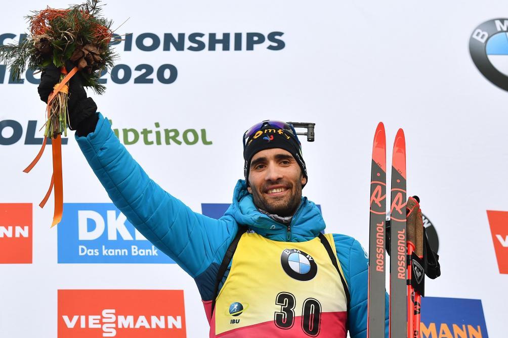 Le Français Martin Fourcade égale le record de Bjoerndalen en biathlon — Historique