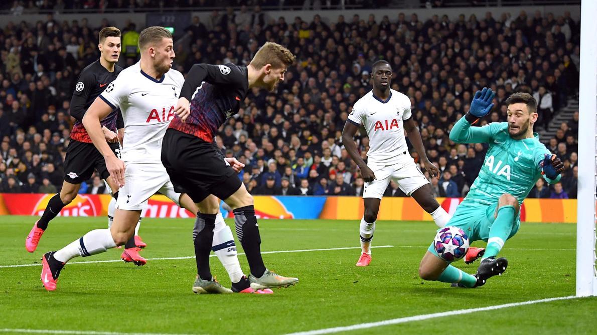 Ligue des champions: Tottenham mené par Leipzig (0-1), l'Atalanta domine Valence (4-1, direct)
