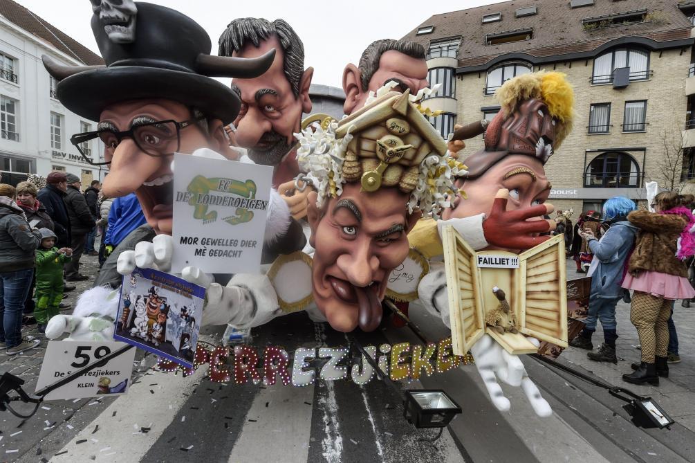 Carnaval d'Alost: «Israël ne doit pas dire ce que la Belgique doit faire»
