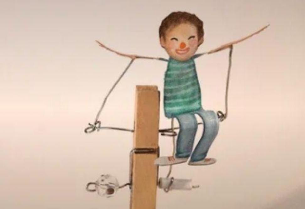 GIFs primés au concours Anima: Aline Quertain, «Le garçon volant»