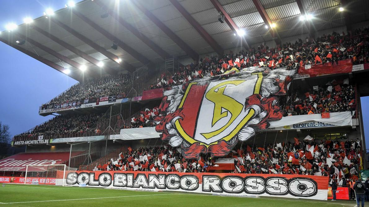 Standard – Antwerp: le superbe tifo des supporters des Rouches avant le coup d'envoi (photos et vidéo)