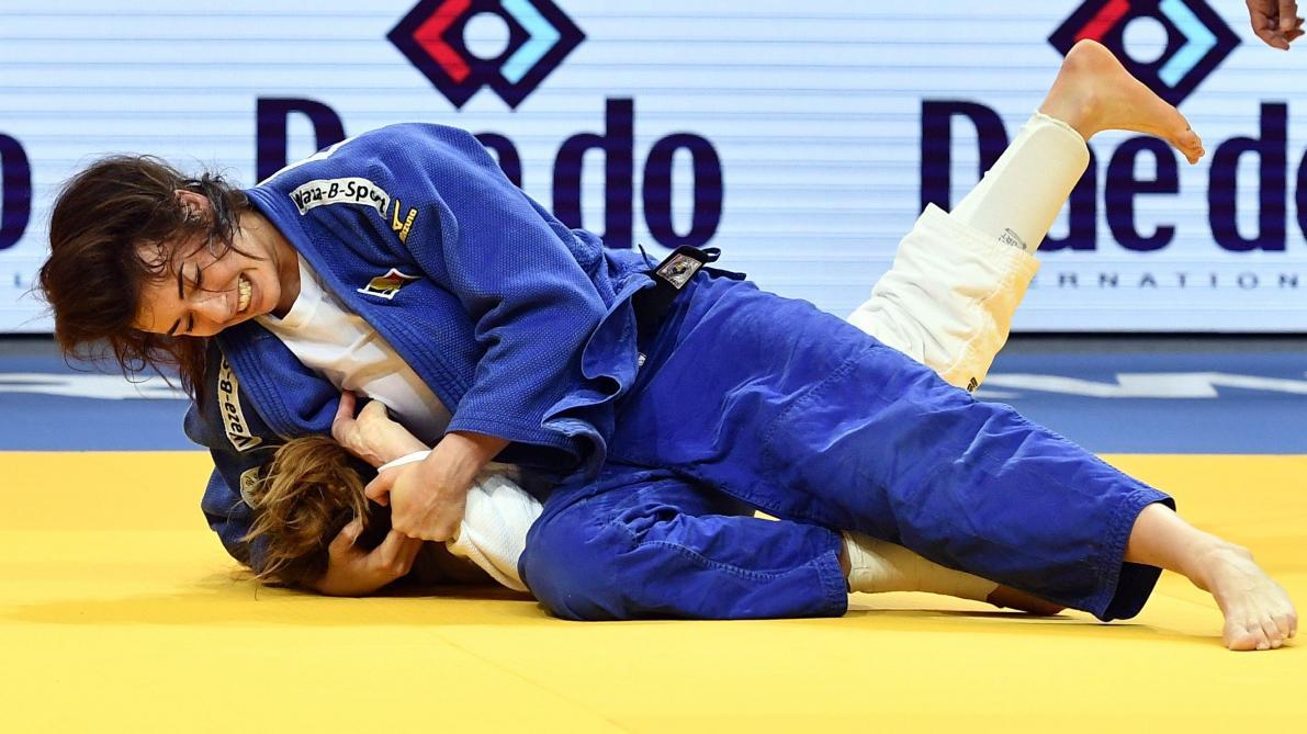 Judo: Gaby Willems se pare d'argent au Grand Chelem de Düsseldorf