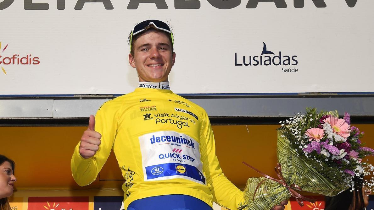 Remco Evenepoel, toujours leader au Tour d'Algarve: «Je vais tout donner dans le contre-la-montre»