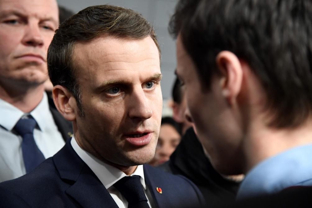 Brexit: «Pas sûr qu'on aura un accord global d'ici la fin année», estime Macron