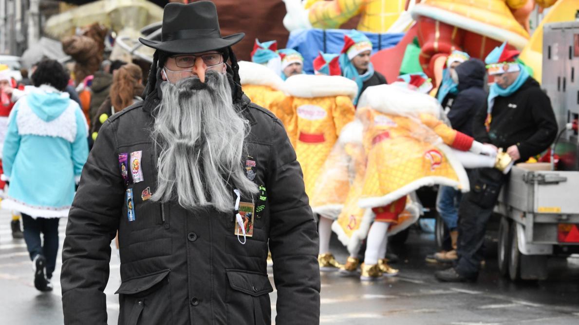 Carnaval d'Alost: un premier char moquant la susceptibilité des juifs présent dans le cortège