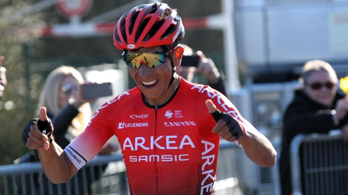 Tour des Alpes-Maritimes et du Var: la 3e étape pour Julien Bernard, le Tour pour Nairo Quintana