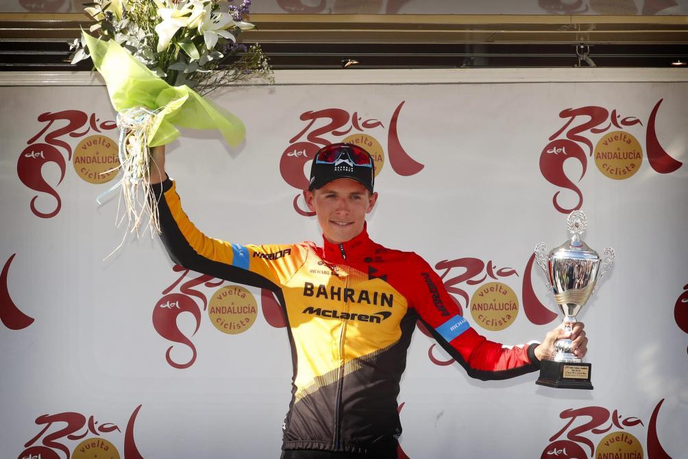Dylan Teuns après sa victoire dans le chrono final au Tour d'Andalousie: «La dernière occasion était la bonne»