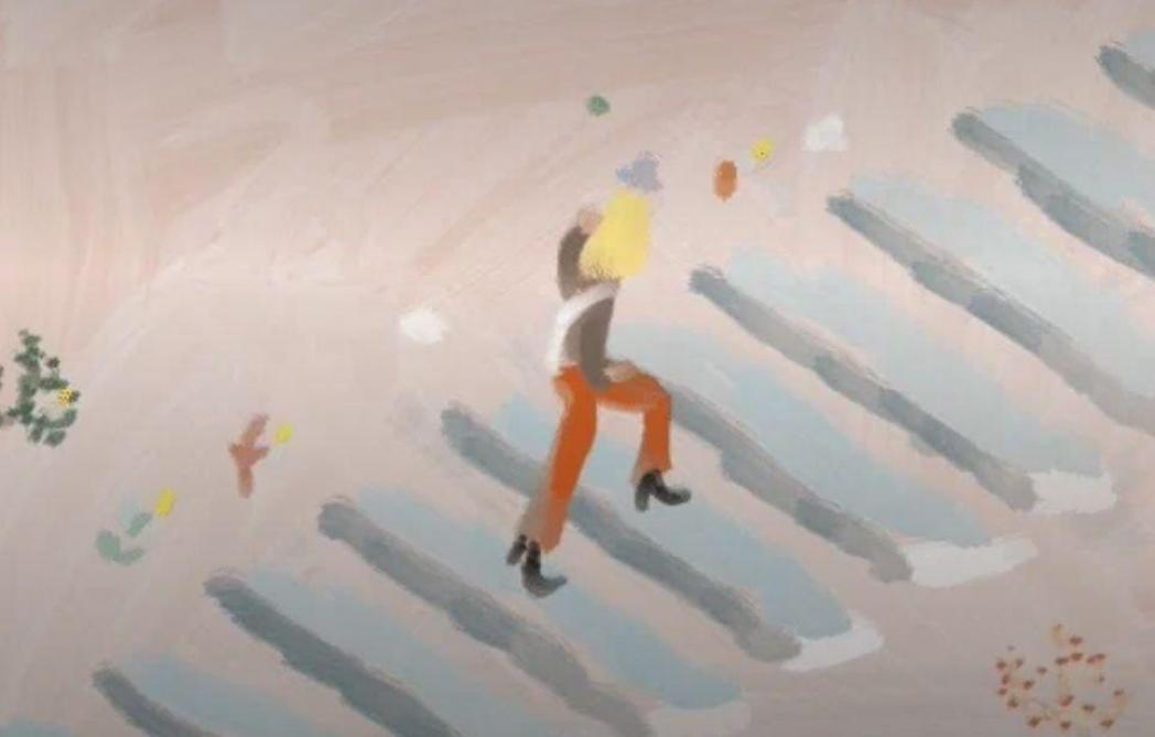 GIFs primés au concours Anima: Juliette Pons, «La pluie au printemps»