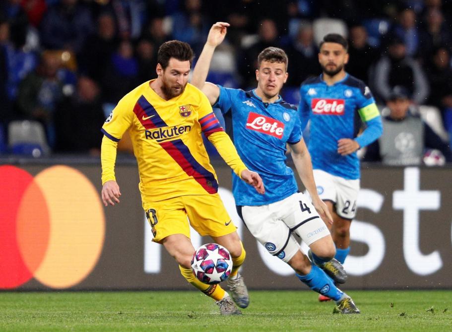 Ligue des champions: Naples défie Barcelone (0-0), Chelsea accueille le Bayern (0-0)
