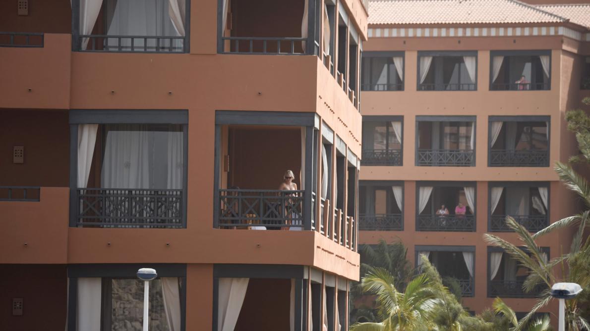 Coronavirus: à Tenerife, Frédéric a vécu la tempête de sable et est maintenant confiné à l'hôtel