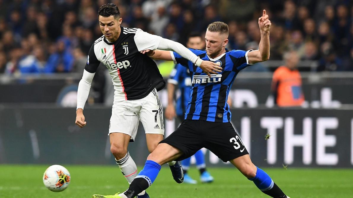 Coronavirus: Juventus-Inter et quatre autres matches de Serie A à huis clos ce week-end