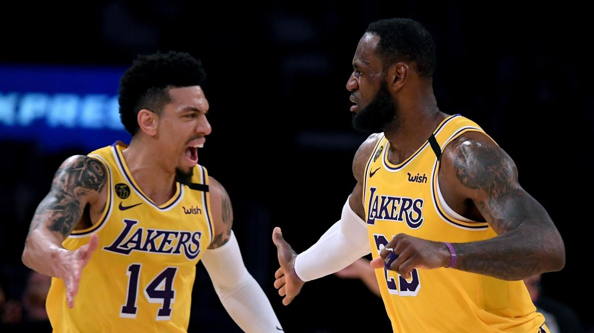 Les Lakers et LeBron James s'imposent face à Milwaukee et Giannis Antetokounmpo en NBA (vidéos)