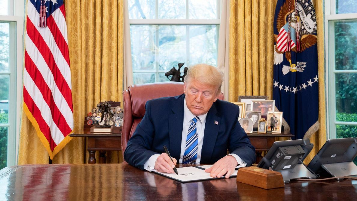 Coronavirus aux Etats-Unis : le président Donald Trump décrète l'urgence nationale