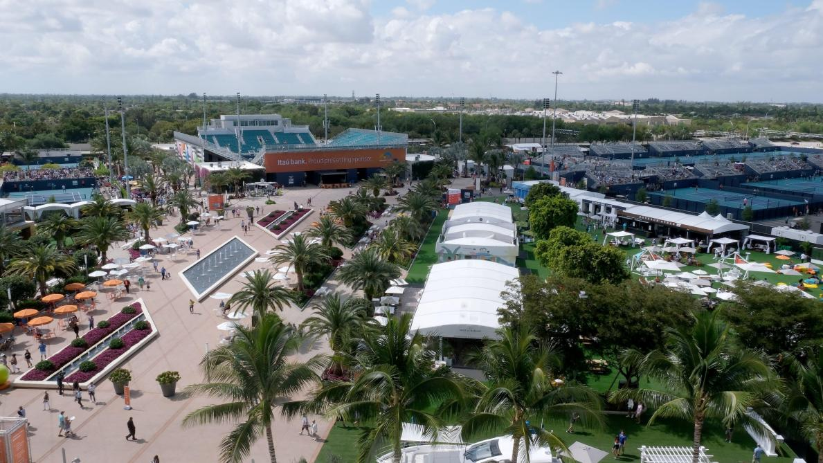 Coronavirus: le tournoi de tennis de Miami officiellement reporté